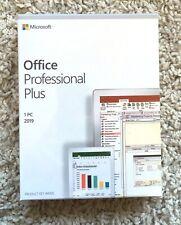 Office 2019 Pro. Plus, Retail, Authentic, Permanent, USB for windows 10 -64bit