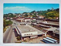 VICENZA stazione treno autobus bus ferrovia vecchia cartolina
