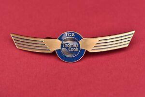 Thomas Cook TCX Pilots Wings Badge Airways badges Airline Aviation Crew