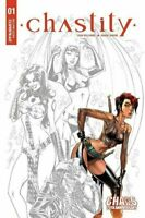 Chastity #1 J Scott Campbell Carve Out Variant Dynamite Comics 2019