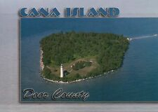 Cana Island Lighthouse, Door County, Wisconsin, Lake Michigan, WI --- Postcard