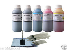 Refill ink kit for Lexmark 4A 5A X2690 X4690 X5690 Z2390 Z2490 5X250ML/S