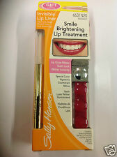 Sally Hansen Smile Brightening Lip Treatment RADIANT WITH INVISIBLE LIP LINER.