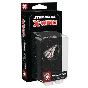 Star Wars X-Wing 2nd Ed Nimbus-Class V-Wing Expansion Fantasy Flight SWZ80