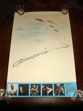 Rare GENESIS ON TOUR 1991 ATLANTIC RECORDS PROMO POSTER - NEAR MINT CONDITION