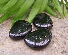 Large Black Obsidian Crystal Thumbstone - Reiki Charged, Protection, Tumblestone