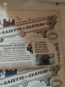 Le château des animaux  : La gazette du château numéro 3 numéroté rare