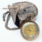 Nautical Brass Antique Vintage Pocket Watch Sydney Watch Australia Antique