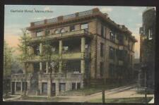 Postcard AKRON Ohio/OH  Early 1900's Garfield Tourist Hotel Building 1907