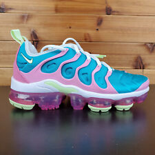Nike Air Vapormax Plus Womens Running Shoes White Volt CW7014-100 Size 6