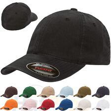 New Original FLEXFIT® Fitted College Hat Dad Cap Blank Low Profile Flex Fit 6997