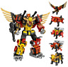 6 in 1 Wei Jiang Transformation Predaking Giant Spirit Storm Tooth Tiger War Toy