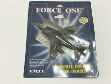 1989 ERTL Force One McDonnell Douglas AV-8B Harrier II Model Plane Die Cast #A