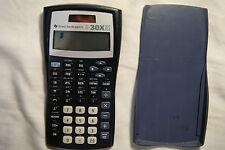Texas Instruments TI-30X IIS TI-30XIIS Solar Scientific Calculator + Cover #1