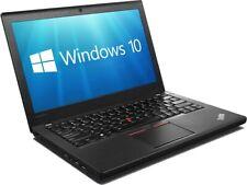 Lenovo THINKPAD X260 Core i3-6100U 8GB 128GB SSD Webcam HDMI W10 Pro