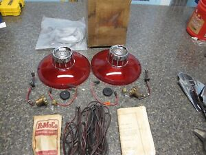 1963 FORD GALAXIE NOS BACK UP LIGHT KIT TAIL LIGHT C3AZ-15499-A1 KIT NEW FOMOCO