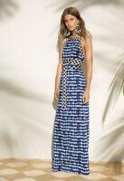 Tory Burch  Maxi Dress Pelton Resort 2017 Tie Dye L 8 10