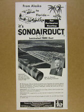1953 Anchorage Alaska Anchor Homes development photo Sonoco vintage print Ad