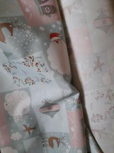 Toller Weihnachtsstoff Canvas  B 150cm, Reststzück 3 METER sehr schön !