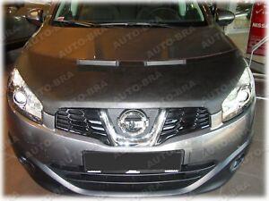 Bonnet Bra für Nissan Qashqai Bj. 2010-2013 Steinschlagschutz Tuning Haubenbra