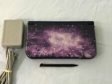 New Nintendo 3DS XL Galaxy Edition System Console,OEM Charger,Stylus,Works Great