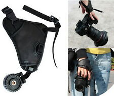 Fashion Leather DSLR Camera Grip Wrist Hand Strap for Pentax Canon 650D 750D 60D