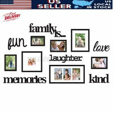 Family Photo Picture Frame Acrylic Sticker Collage Wall Art Home Wedding