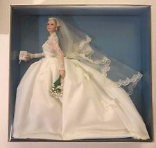 Princess Grace Kelly Monaco BFMC Mattel Silkstone Barbie Wedding Bride Doll NRFB