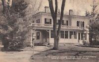 Postcard Rose Coffee House Stockbridge MA