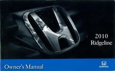 2010 Honda Ridgeline Owners Manual User Guide