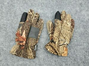 Oaktree Mens L Huntworth Gloves Camouflage Thinsulate Insulated 40 Gram Hunting