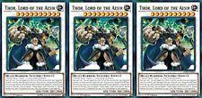 Thor, Lord of the Aesir LEHD-ENB30 X 3 Mint YUGIOH Effect Synchro Monster