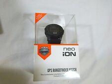New 2016 Bushnell Neo iON Golf GPS Rangefinder Watch Black & Neon Range finder