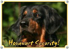 Hovawart Hundewarnschild - Sturdy Metal Sign - 1A Quality