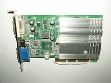 NVIDIA GeForce FX 5200, 128 MB DDR, AGP 8x, pasiva, DVI, VGA D-sub, S-Video