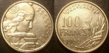 France - IVème République - 100 francs Cochet 1955 B ruban étroit, SUP ! F.450/6