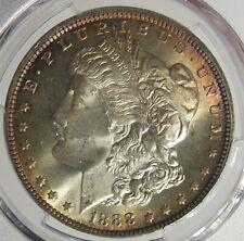 1888 - O Morgan Silver Dollar BU PCGS MS65 Toned  #103088