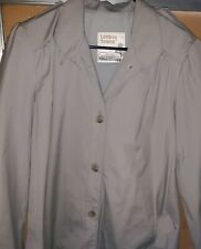 London Towne trench coat Womens size 8 regular theater or drama club costumes