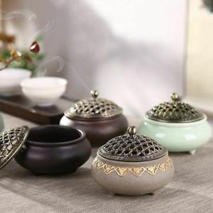 Creativity Ceramic Incense Burner Porcelain Coil Holder Home Decor Accessory