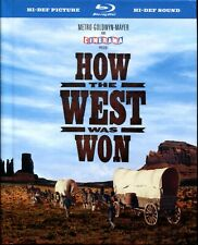How The West Was Won Blu-Ray, Enhanced Dolby Digital, 2 different versions, Hour