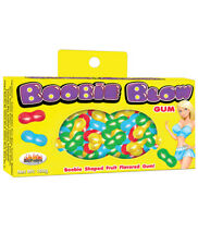 Boobie Blow Breast Shaped Fruit Flavored Gum by Hott Products