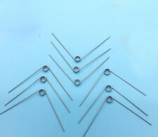Wire Dia 0.5mm OD 4.5mm Miniature Torsion Spring 5Pcs
