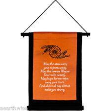 COTTON MAY THE STARS WALL HANGING BANNER 406 x 310 mm Wicca Witch Pagan Druid
