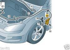 NUOVO Originale VW Beetle mk7 Golf EOS COFANO INTERNO MANIGLIA STAFFA 3c2823633a