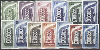 EUROPA STAMP ANNEE COMPLETE 1956 13 TIMBRES NEUFS xx LUXE VALEUR : 671€ A 12% !!