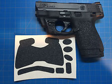 Smith & Wesson M&P Shield 9/40 Custom Rubber Gun Grips! Better Grip With Patches