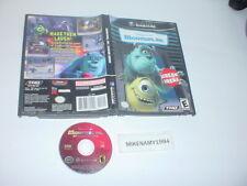 MONSTERS, INC. SCREAM ARENA game in case - Nintendo GAMECUBE