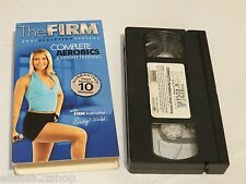 The Firm body sculpting system 2 complete aerobics weight train VHS tape RARE