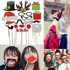 New-17pc Set Prop SELFIE Selfie Prop PHOTO BOOTH Kit per feste-Natale-funcstions