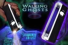 UV Ultraviolet Tube Torch/Flashlight, Ghost Hunting Paranormal, Money Checker/UK